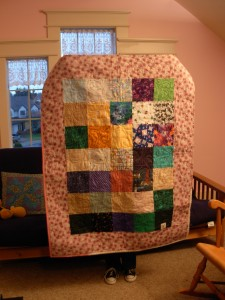 Another little charity quilt