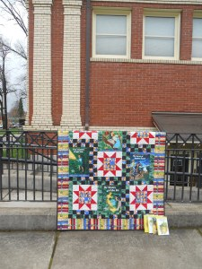 My Nancy Drew quilt for the Nancy Drew is a Clue blog hop.  Finished March, 2013