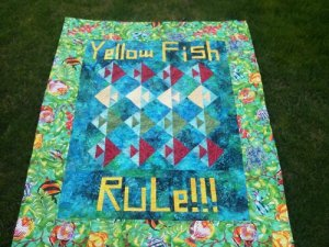 Yellow Fish Rule...I need to tell this story...but not in this post.