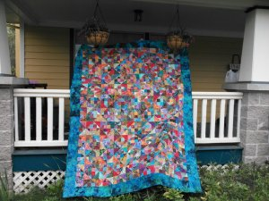 Quilt without End...I made two of these and still find batik pieces hiding in my sewing room!