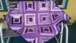 Donor quilt #3, Heartstring Project blocks.